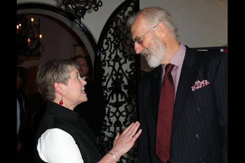 Dame Barbara Hay, James Cromwell